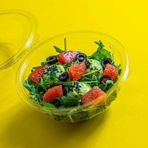 Avokádós-grapefruit-saláta