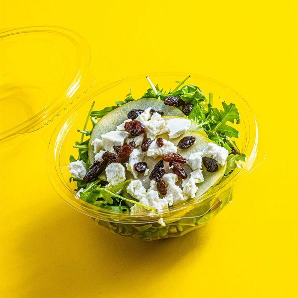 Kecskesajtos-körtés-saláta