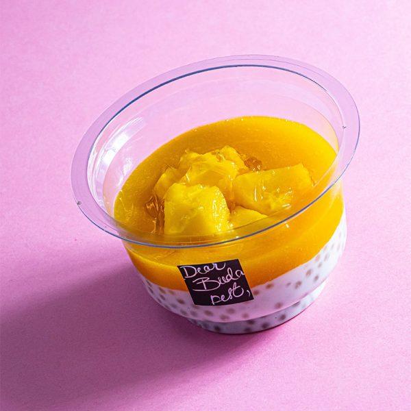 Kókusztejes-Tápióka-puding-mangó-passió-gyümölcs-coulis
