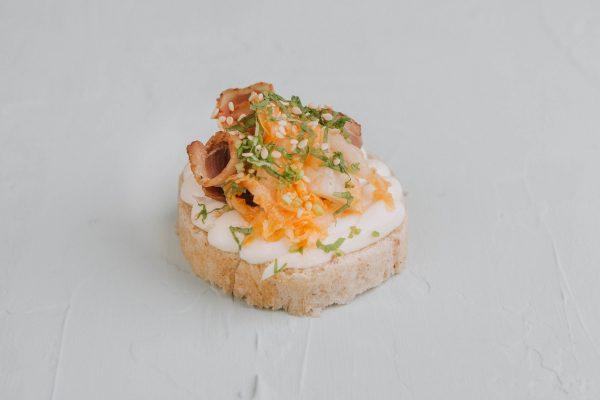 Ázsiai kacsamelles szendvics
