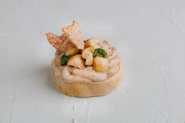 Padlizsánkrémes szendvics