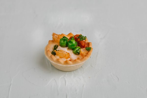 Camambert krémes tarte kosár