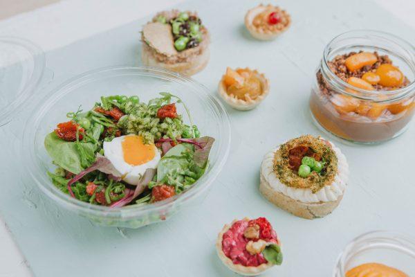 Vegetáriánus szendvics csomag (10 főre)