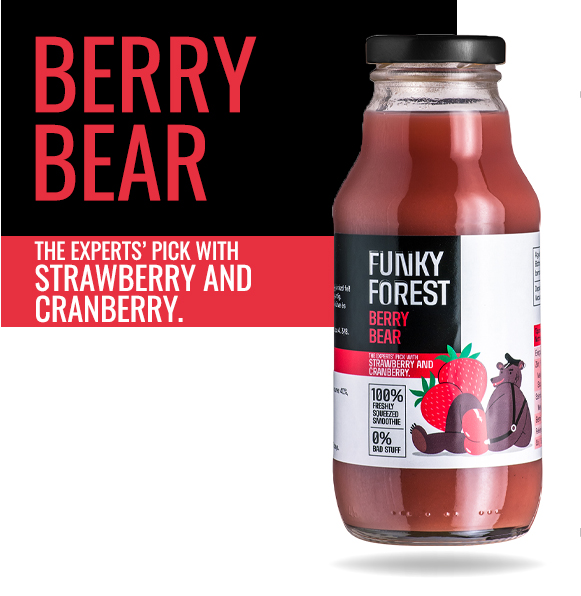 Funky Forest Berry Bear