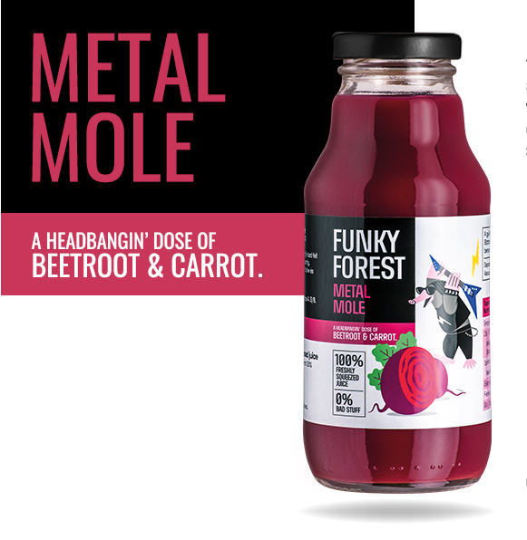 Funky Forest Metal Mole
