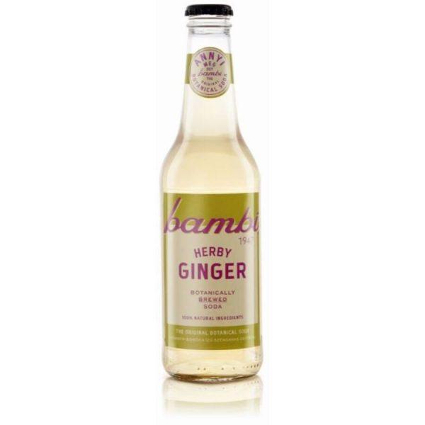 Bambi soda herby ginger 0.33 l