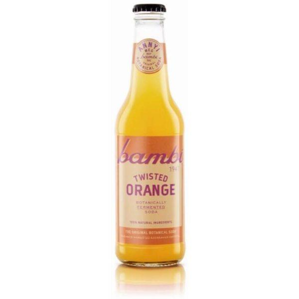 Bambi soda twisted orange 0.33 l
