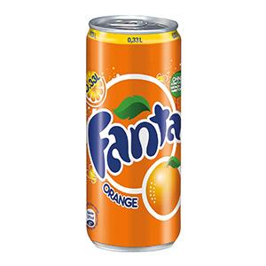 Fanta – 0,33 l